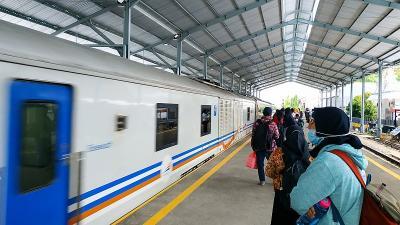 5.000 Orang Lakukan Perjalanan Naik Kereta Selama Pelarangan Mudik Lebaran