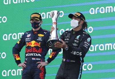 Gagal Kalahkan Lewis Hamilton di F1 GP Spanyol 2021, Ini Dalih Verstappen
