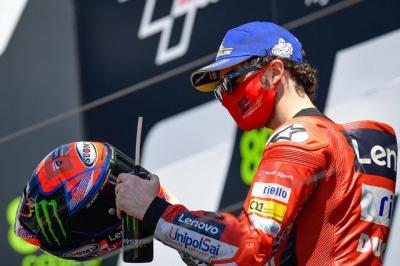 Ducati Nantikan Kemenangan Pertama Francesco Bagnaia di MotoGP 2021