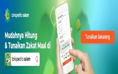 Selama Ramadhan, Transaksi Zakat Mal Naik 3 Kali Lipat di Tokopedia