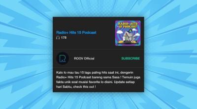 Radio+ Hits 15 Podcast Kulik Lagu Baru Sabyan, Seperti Apa Keseruanya!