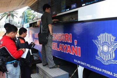 Berikut Lokasi Layanan SIM Keliling di Jakarta Hari Ini