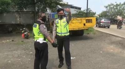 Tragis! Istri Tewas dan Tangan Suami Putus Usai Belanja Lebaran di Tangerang