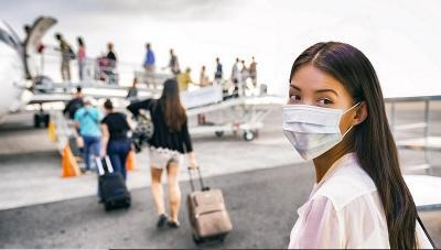 Cara Mencegah Tertular COVID-19 saat Traveling dengan Pesawat