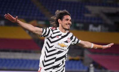 Cavani Girang Dapat Kontrak Baru dari Man United