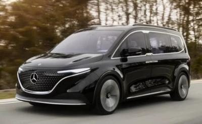 Mercedes-Benz Kenalkan Van Listrik untuk Keluarga