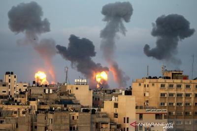 Serangan Meningkat, 35 Warga Palestina Tewas di Gaza, 3 Orang di Israel