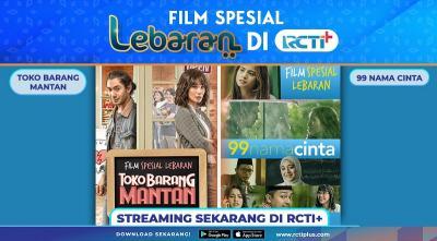 Liburan Lebaran Spesial Nonton Box Office Indonesia di RCTI+