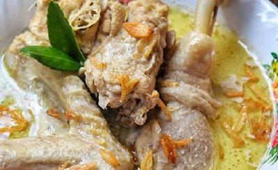 Opor Ayam Menu Istimewa saat Lebaran, Begini Asal Usulnya