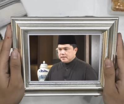 Silaturahmi Lebaran Harus Online, Erick Thohir: Sabar Ya