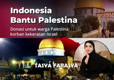 Atta Halilintar hingga Tasya Farasya Galang Dana untuk Palestina
