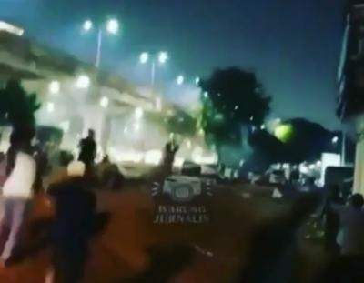 Parah! Malam Takbiran, Remaja di Jatinegara Malah Perang Petasan