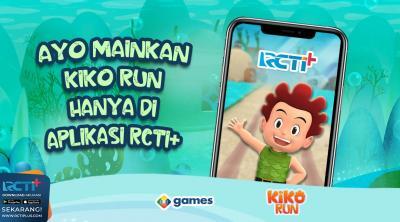 Kiko Run Game Endless Run Penuh Aksi yang Bikin Ketagihan, Mainkan Hanya di Aplikasi RCTI+