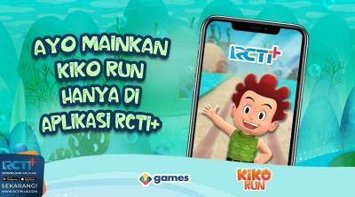 Kiko Run Game Endless Run Bikin Ketagihan, Cuma di RCTI+