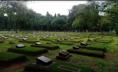 TPU Pondok Ranggon Jaktim Sepi dari Warga yang Ziarah