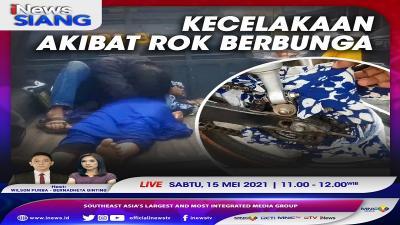 Kecelakaan Akibat Rok Berbunga, Selengkapnya di iNews Siang Sabtu Pukul 11.00 WIB