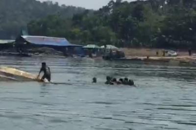 Terungkap, Ternyata Pengemudi Perahu Tenggelam di Waduk Kedung Ombo Masih di Bawah Umur