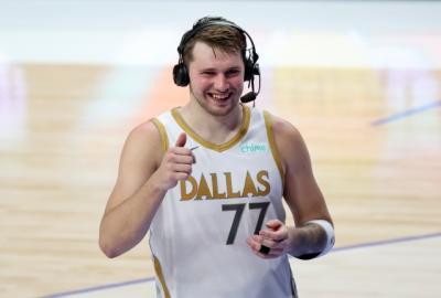 Luka Doncic Girang Bisa Bawa Dallas Mavericks ke Playoff NBA 2020-2021