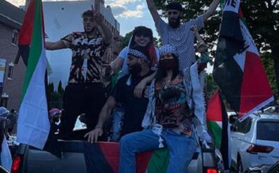 Ikut Aksi Bela Palestina, Bella Hadid Tampil Cantik