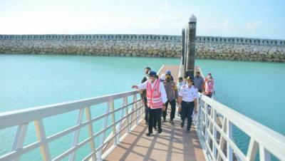 Menhub Targetkan Pelabuhan Nusa Penida Rampung Awal 2022