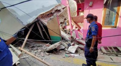 Bangunan di Kalideres Roboh, Tak Ada Korban Jiwa