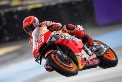 Sirkuit Le Mans Diguyur Hujan, Marc Marquez Lebih Diuntungkan?