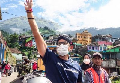 Soroti Kerumunan di Tempat Wisata, Sandiaga Uno: Kami Segera Evaluasi!