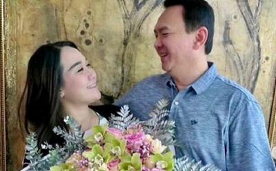 Pesan Romantis Ahok BTP untuk Puput Nastiti yang Berulang Tahun