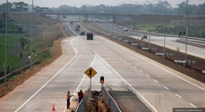 Jelang Akhir Larangan Mudik, Kendaraan di Tol Palimanan Meningkat