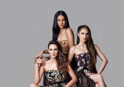 Luna Maya, Cinta Laura dan Anya Geraldine Kompak Kenakan Batik, Netizen Ramai