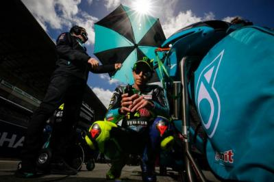Gagal Tembus 10 Besar di MotoGP Prancis, Valentino Rossi: Ini Balapan Membingungkan