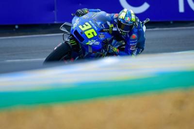Kecewanya Joan Mir Usai Gagal Finis di MotoGP Prancis 2021