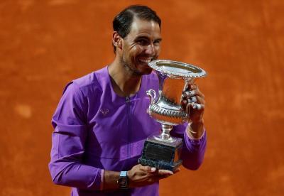 Rafael Nadal Puas Bisa Kalahkan Djokovic dan Raih Gelar Italia Open Ke-10