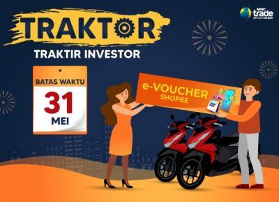 Ikuti Promo TRAKTOR, Masih Ada Kesempatan Raih Motor & Voucher Belanja dari MNC Sekuritas