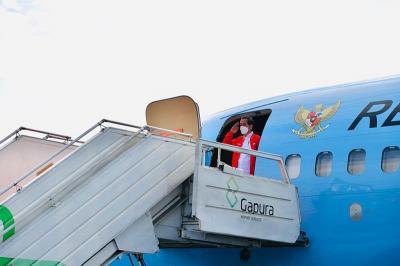 Jokowi Tinjau Vaksinasi Gotong Royong dan Proyek Kereta Cepat Jakarta-Bandung