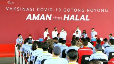 Kadin Ungkap 22.736 Perusahaan Terdaftar Vaksinasi Gotong Royong