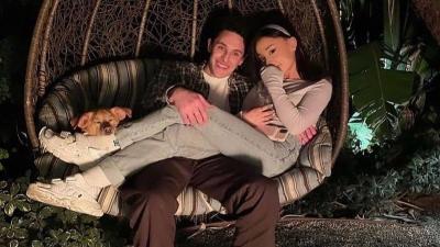 Suami Ariana Grande Rancang Cincin Pernikahan Langsung