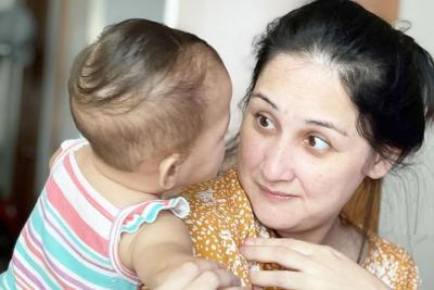 Alergi Anak Mona Ratuliu Kumat usai Tak Sengaja Makan Kacang Telur