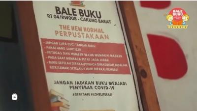 Bale Buku Jakarta, Anies: Tempat Kegiatan Membaca Masyarakat
