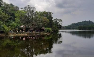 Danau Sebedang Sambas Alami Lonjakan Pengunjung