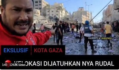 Ada Bang Onim di Palestina, Menlu Retno pun Minta Laporan Terkini Darinya