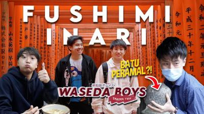 Fushimi Inari Spot Paling Instagrammable di Kyoto ala Jerome Polin dan Waseda Boys!