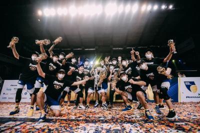 Hasil Final IBL 2021: Taklukkan Pelita Jaya, Satria Muda Resmi Jadi Juara