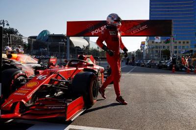 Charles Leclerc Akui Red Flag Bantu Dirinya Rebut Pole Position di GP Azerbaijan