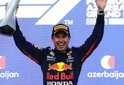 Menangi F1 GP Azerbaijan 2021, Penampilan Sergio Perez di Luar Ekspektasi Red Bull
