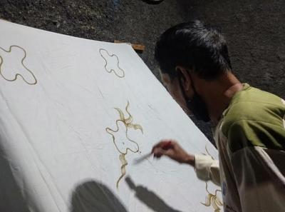 Kisah Perajin Batik Borobudur 'Ditinggal' Pembeli Imbas Covid-19