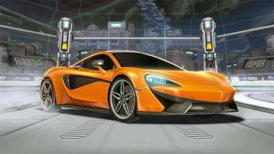 PUBG Mobile Bawa McLaren 570S Mengaspal di Jakarta