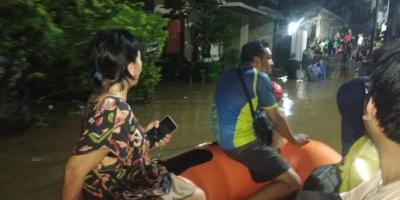 BNPB: Puluhan Warga Mengungsi Akibat Banjir dan Tanah Longsor di Tangerang Selatan