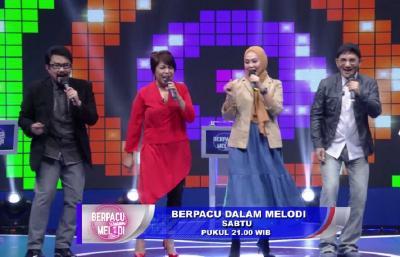 Elfa's Singer Adu Wawasan Lagu di Berpacu Dalam Melodi Malam Ini Pukul 21.00 WIB