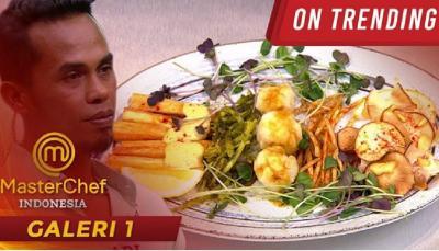 Hidangan Singkong Platter Adi Kontestan MasterChef Season 8 Bikin Chef Renatta Ngakak